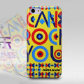 Nillkin Rock Drawing Color Cover Hard Case Skin for Apple iPhone 5C - Yellow