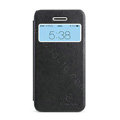 Nillkin Stylish Flip leather Case Holster Cover Skin for Apple iPhone 5C - Black
