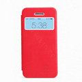 Nillkin Stylish Flip leather Case Holster Cover Skin for Apple iPhone 5C - Red