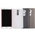 Nillkin Super Matte Hard Case Skin Cover for LG Optimus G2 D802 - Brown