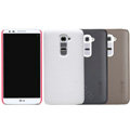 Nillkin Super Matte Hard Case Skin Cover for LG Optimus G2 D802 - Red
