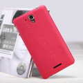 Nillkin Super Matte Hard Case Skin Cover for Lenovo S898T - Red