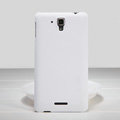 Nillkin Super Matte Hard Case Skin Cover for Lenovo S898T - White