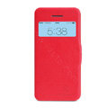 Nillkin Victory Flip leather Case Button Holster Cover Skin for Apple iPhone 5C - Red