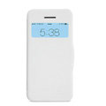Nillkin Victory Flip leather Case Button Holster Cover Skin for Apple iPhone 5C - White