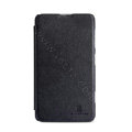 Nillkin Victory Flip leather Case Button Holster Cover Skin for Nokia Lumia 625 - Black