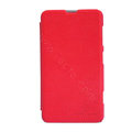 Nillkin Victory Flip leather Case Button Holster Cover Skin for Nokia Lumia 625 - Red