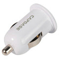 Capdase Auto Dual USB Car Charger Universal Charger for Lenovo A850 - White