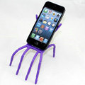 Spider Universal Bracket Phone Holder for Lenovo A850 - Purple