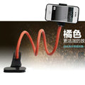 Universal Car Bracket + Sucker Phone Holder for ZTE Nubia 5 - Orange