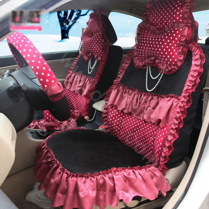 Girly Seat Cover Sets For Cars Velcromag