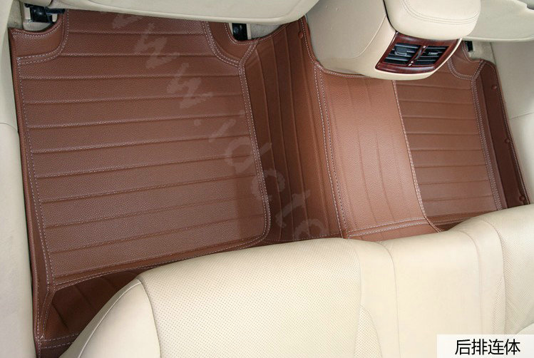 Buy wholesale pu leather q005 custom automobile carpet car for Leather flooring cost