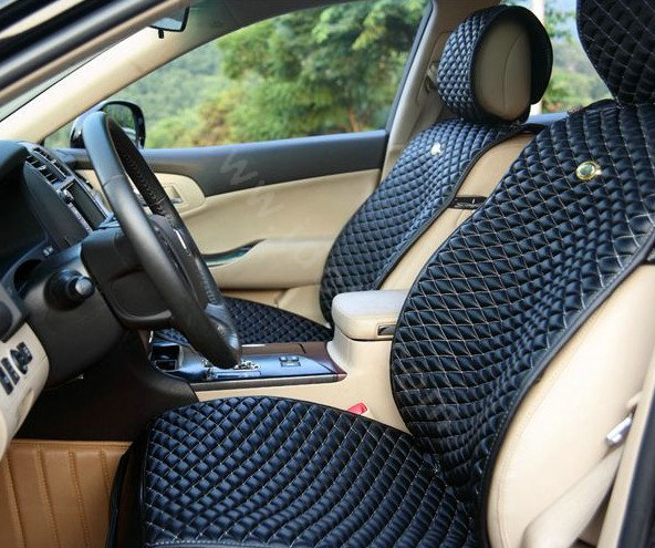 buy wholesale best universal genuine sheepskin car seat cover leather wool auto cushion 4pcs. Black Bedroom Furniture Sets. Home Design Ideas