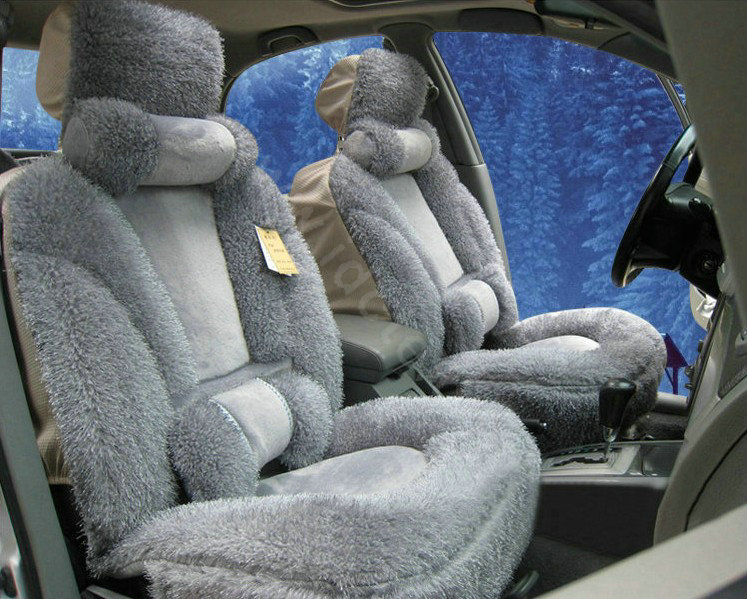 Buy Wholesale Universal Synthetic Sheepskin Car Seat Cover