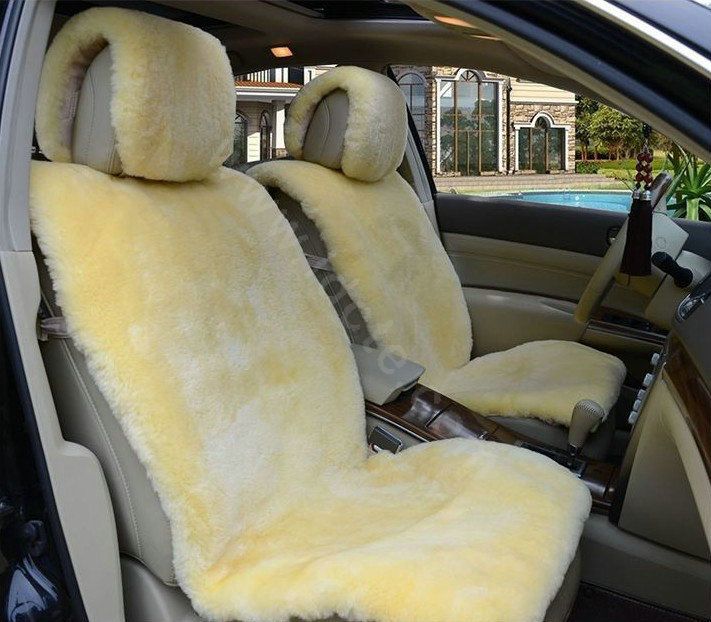 Buy wholesale universal synthetic sheepskin car seat cover for Motor sheep seat covers