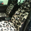 Customized Cloth Camo Auto Car Seat Covers 11pcs Sets for Vehicle - Green