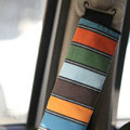 Personalised Canvas Cloth Cotton Line Auto Seat Safety Belt Covers Car Decoration 2pcs - Multicolor