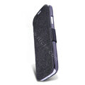 Nillkin Fresh leather Case button Holster Cover Skin for Samsung Galaxy S5 i9600 - Black