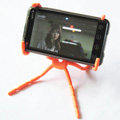 Spider Universal Bracket Phone Holder for Samsung Galaxy S5 i9600 - Orange