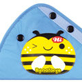 Cute Bee Water Nylon Cotton Auto Car Seat Safety Belt Adjuster Covers For Children- Blue