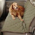 High Quality Universal Oxford Cloth Pets Auto Rear Bench Cushions Car Seat Covers For Dogs - Green