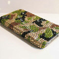 Bling S-warovski crystal cases diamond covers for iPhone 6 - Green