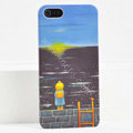 Ultrathin Matte Cases Sea girl Hard Back Covers for iPhone 6 - Black