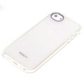 ROCK Joyful free Series Leather Cases Holster Covers for iPhone 6 Plus - White