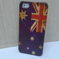Retro Australia flag Hard Back Cases Covers Skin for iPhone 6 Plus