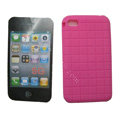 s-mak Silicone Cases Skin for iPhone 6 Plus - Rose