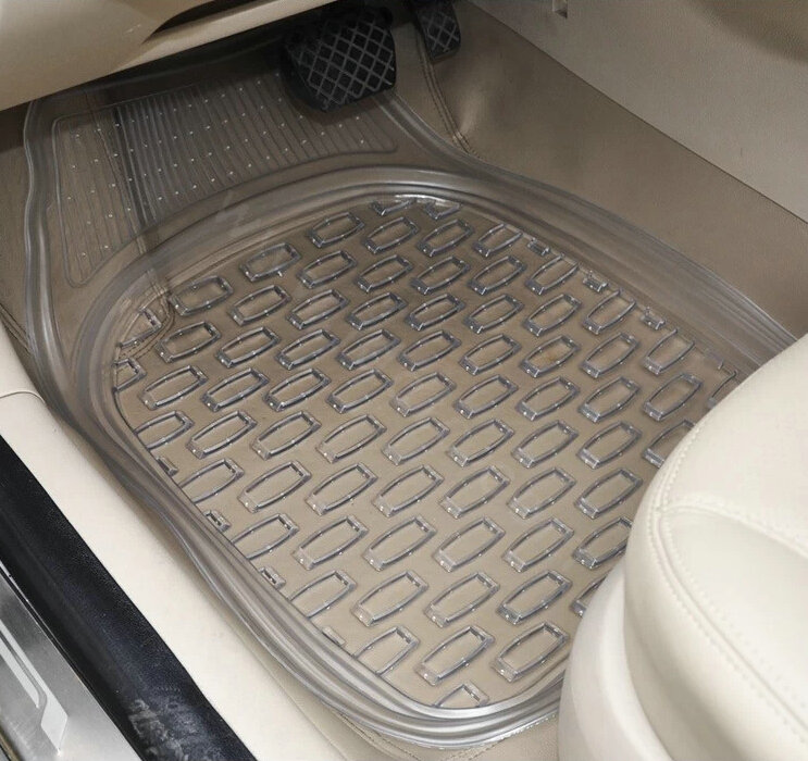 buy wholesale good clear pvc plastic universal vehicle auto foot carpet car floor mats 5pcs sets. Black Bedroom Furniture Sets. Home Design Ideas