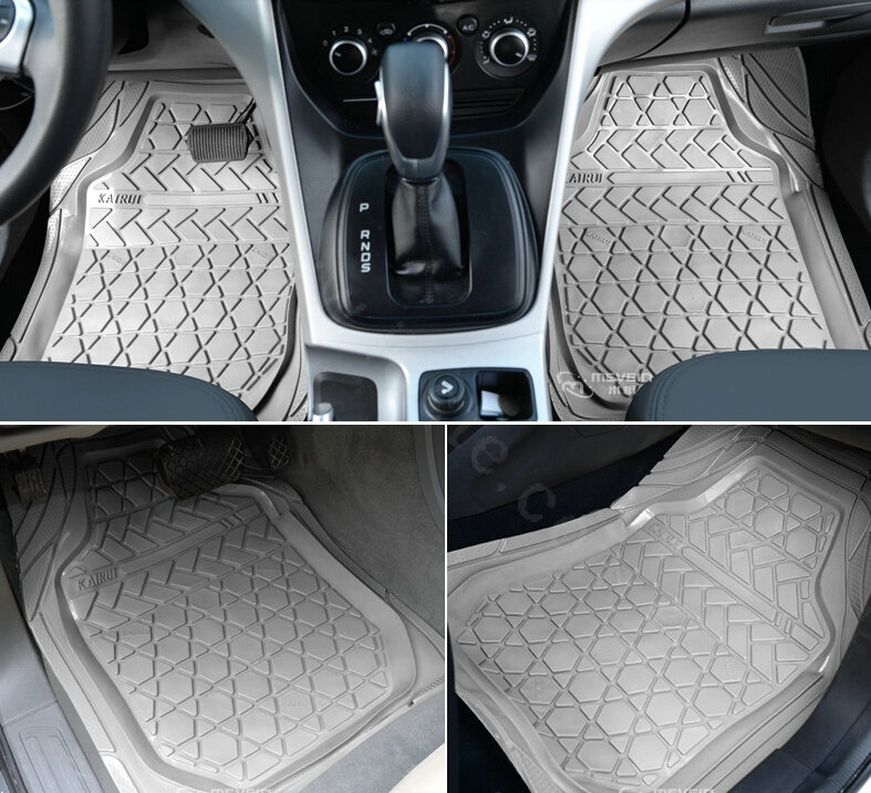 buy wholesale high quality pvc plastic universal waterproof auto foot carpet floor mats for cars. Black Bedroom Furniture Sets. Home Design Ideas