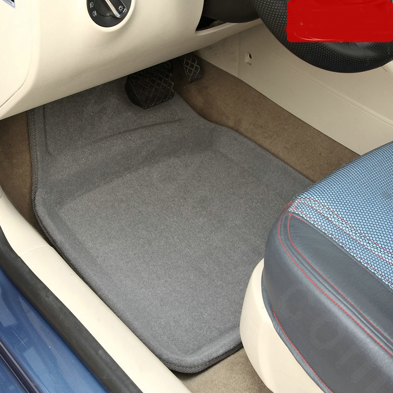 buy wholesale best vehicle universal auto carpet waterproof car floor mats pvc 5pcs sets black. Black Bedroom Furniture Sets. Home Design Ideas