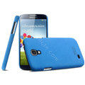 IMAK Cowboy Shell Hard Case Cover for Samsung Galaxy Note 4 N9100 - Blue