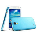 IMAK Ultrathin Clear Matte Color Cover Case for Samsung Galaxy Note 4 N9100 - Blue