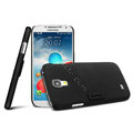 IMAK Ultrathin Matte Color Cover Support Case for Samsung Galaxy Note 4 N9100 - Black