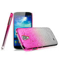 Imak Colorful raindrop Case Hard Cover for Samsung Galaxy Note 4 N9100 - Gradient Rose