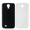 Leather Case PC Battery Back Cover Housing For Samsung Galaxy Note 4 N9100 - Black+White
