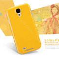 Nillkin Colourful Hard Case Skin Cover for Samsung Galaxy Note 4 N9100 - Yellow