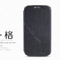 Nillkin leather Case Holster Cover Skin for Samsung Galaxy Note 4 N9100 - Black