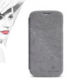 Nillkin leather Cases Holster Skin Cover for Samsung Galaxy Note 4 N9100 - Gray