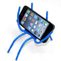 Spider Universal Bracket Phone Holder for Samsung Galaxy Note 4 N9100 - Blue