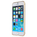 High Quality Aviation Aluminum Bumper Frame Case Cover for iPhone 6 Plus 5.5 - Gold