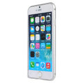 High Quality Aviation Aluminum Bumper Frame Case Cover for iPhone 6 Plus 5.5 - Silver