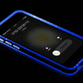 Rock Luminescence TPU Bumper Frame Covers Silicone Cases for iPhone 6 Plus 5.5 - Blue