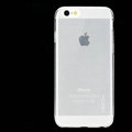 Rock Transparent TPU Covers Invisible Silicone Cases for iPhone 6 Plus 5.5 - White