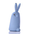 TPU Three-dimensional Rabbit Covers Silicone Shell for iPhone 6 Plus 5.5 - Blue