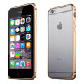 Ultrathin Aviation Aluminum Bumper Frame Protective Shell for iPhone 6 Plus 5.5 - Gold