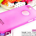 IMAK Water Jade Shell Hard Cases Covers for iPhone 6S - Rose