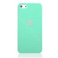 ROCK Naked Shell Cases Hard Back Covers for iPhone 6S - Green